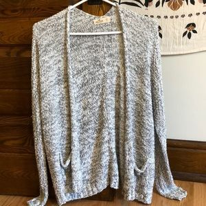 Hollister Grey Cardigan